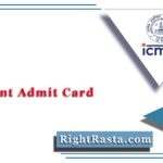 ICMR Assistant Admit Card 2020 (Out) | Download ICMR Group B Hall Ticket