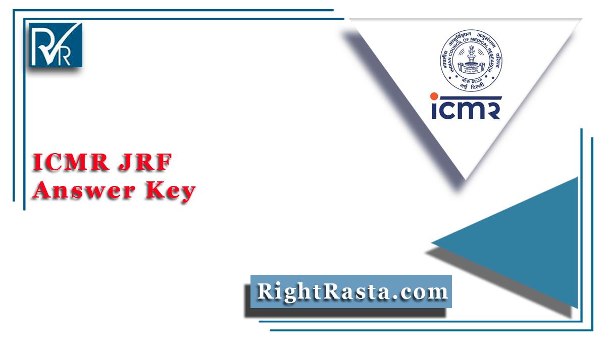 ICMR JRF Answer Key