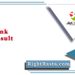 JK Bank PO Result 2020 (Out) | Download Probationary Officer Prelims Merit List