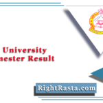 Jammu University 4th Semester Result 2020 (Out) | COEJU Sem 4 Results