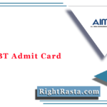 MAT CBT Admit Card 2020 (Out) | AIMA Management Aptitude Test Hall Ticket