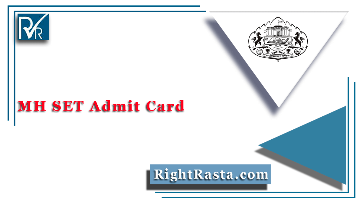 MH SET Admit Card