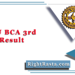 MLSU BCA 3rd Year Result 2020 (Out) | Download B.C.A. Part 3 Results