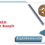 MLSU BED 1st Year Result 2020 (Out) | Download B.Ed. First Year Results