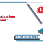 NHM Rajasthan CHO Result 2021 | Check Community Health Officer DV Schedule