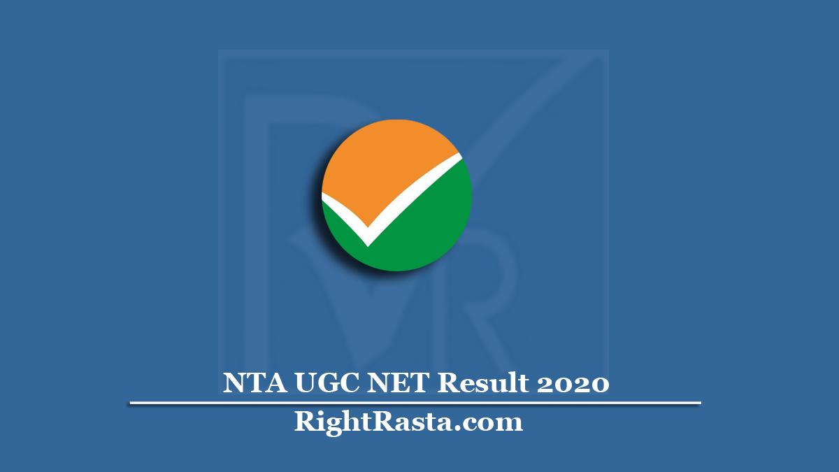 NTA UGC NET Result