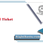 OU Hall Ticket 2020 (Out)   Download Osmania University Admit Card