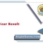 PRSU BA 1st Year Result 2020 (Out) | Download B.A Part 1 Results @ www.prsu.ac.in
