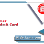 RRB Ajmer NTPC Admit Card 2020 (Out)   Download CEN 01/2019 Hall Ticket