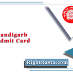 RRB Chandigarh NTPC Admit Card 2020 (Out) | Download CEN 01/2019 Hall Ticket