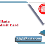 RRB Kolkata NTPC Admit Card 2020 (Out)   Download CEN 01/2019 Hall Ticket