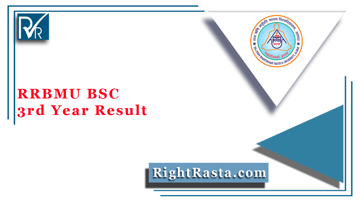 RRBMU BSC 3rd Year Result