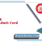 RRC WR GDCE Admit Card 2021 (Out) | Download Railway GDCE Call Letter
