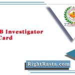 RSMSSB Investigator Admit Card 2020 (Out)   Download Rajasthan Anveshak Hall Ticket