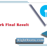 SBI Clerk Final Result 2020 (Out) | Download State Bank JA Mains Merit List
