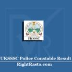 UKSSSC Police Constable Result 2020 (Out) | Uttarakhand Abkari & Parivartan Sipahi Merit