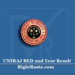 UNIRAJ BED 2nd Year Result 2020 (Out) | Download Rajasthan University B.Ed Part 2 Results