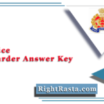 UP Police Jail Warder Answer Key 2020 (Out) | Download UPPRPB Official Answer Key