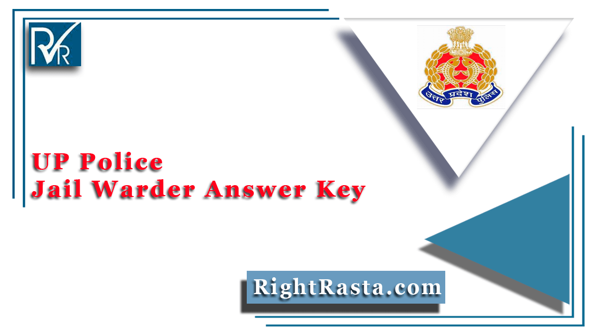 UP Police Jail Warder Answer Key