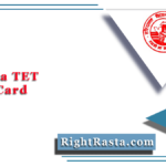 www.haryanatet.in Admit Card 2020 (Out) | Download Haryana TET Hall Ticket