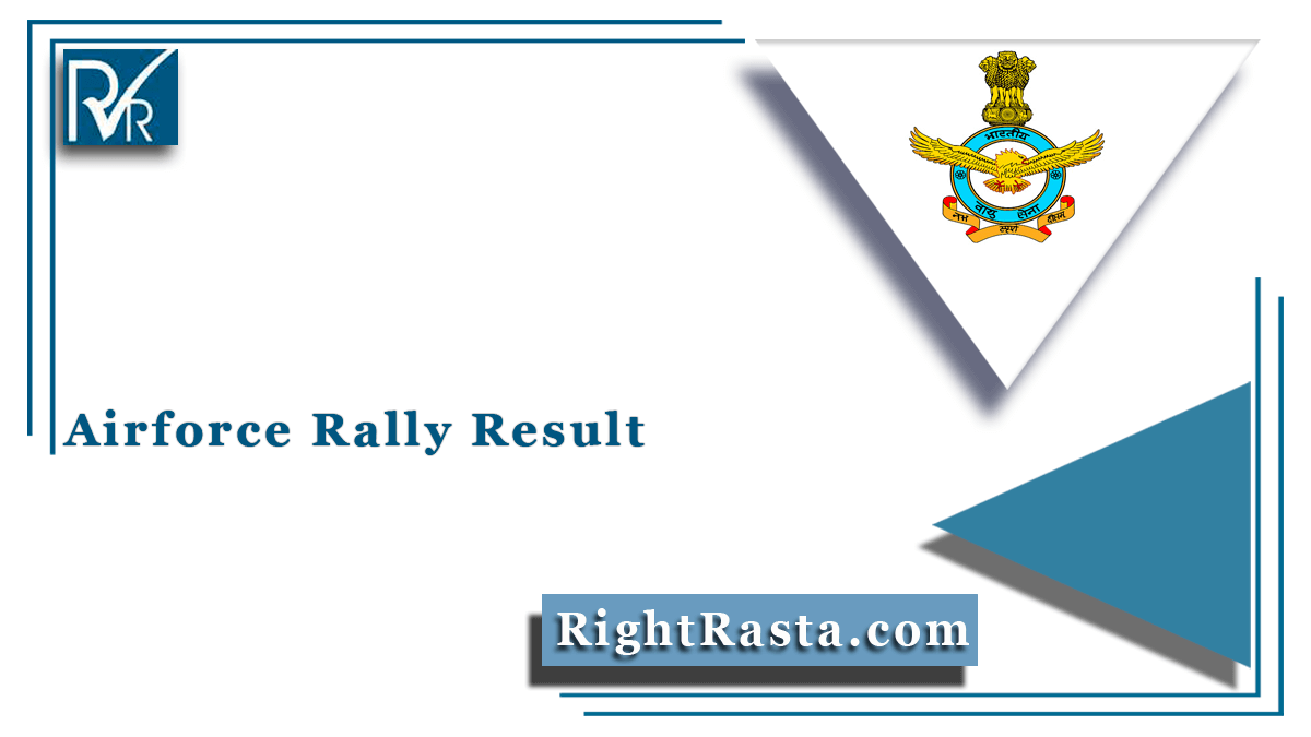 Airforce Rally Result
