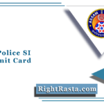 Assam Police SI PET Admit Card 2021 (Out) | Download UB Physical Hall Ticket