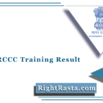 Assam RCCC Training Result 2021 (Out) | Download Accepted Candidates List
