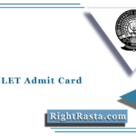 Assam SLET Admit Card 2021 (Out) | Gauhati University State Eligibility Test Hall Ticket