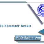 BPUT Odd Semester Result 2021 (Out) | 3rd, 5th, 7th & 9th Semester Result