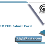 Bihar COMFED Admit Card 2021 (Out) | Download Bihar Assistant Hall Ticket