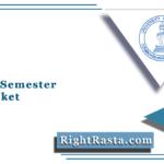CU 2nd Semester Hall Ticket 2021 (Out) | Calicut University 2nd Sem Hall Ticket