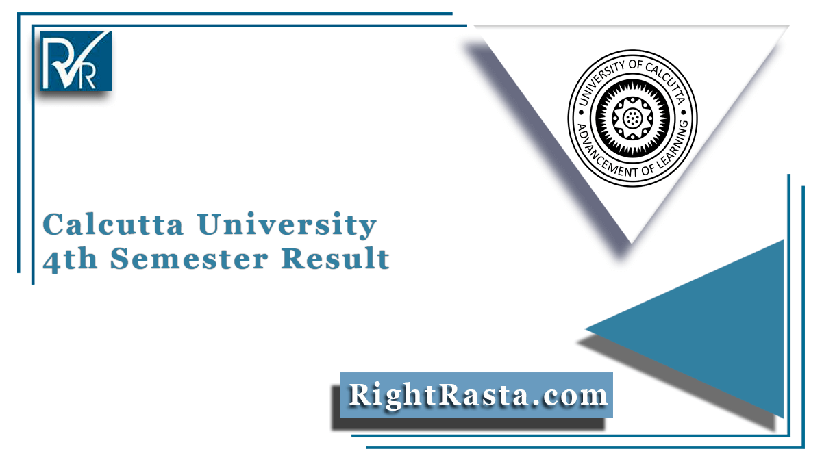 Calcutta University 4th Semester Result