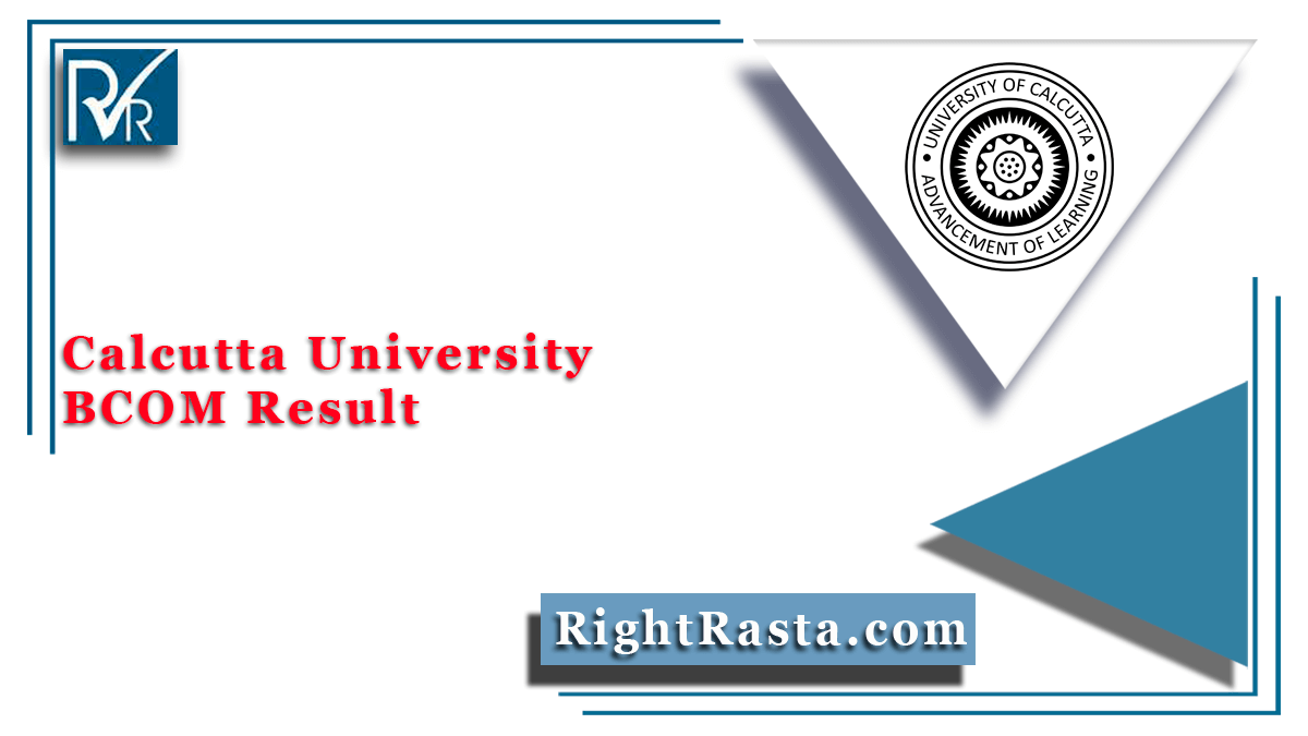Calcutta University BCOM Result