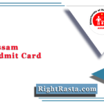 DHS Assam ANM Admit Card 2021 (Out) | Download DHSFW Exam Hall Ticket