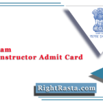 DTE Assam Junior Instructor Admit Card 2021 (Out) | Download Hall Ticket