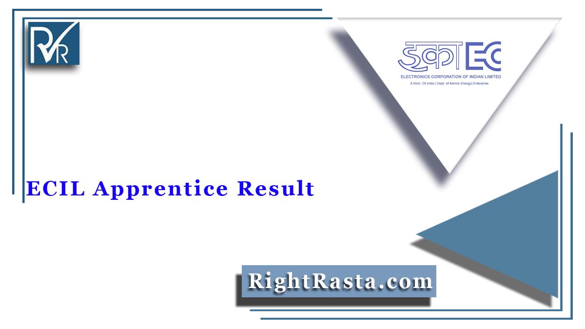 ECIL Apprentice Result