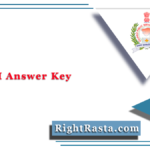GPSC PI Answer Key 2021 (Out) | Gujarat PSC Police Inspector Answer Sheet