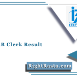 IBPS RRB Clerk Result 2021 (Out) | Download Office Assistant Prelims Marks