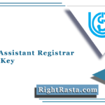 IGNOU Assistant Registrar Answer Key 2021 (Out) | Download Answer Sheet