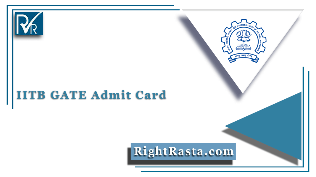 IITB GATE Admit Card