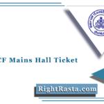 KPSC ACF Mains Hall Ticket 2021 (Out) | Download Karnataka ACF Admit Card