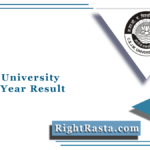 Kanpur University BSC 1st Year Result 2021 (Out) | CSJM B.Sc Part 2 Results