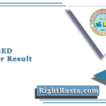 MDSU BED 2nd Year Result 2020 (Out) | Download B.Ed Part 2 Results