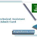MRPL Technical Assistant Trainee Admit Card 2021 (Out) | Download Hall Ticket