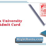 Magadh University Part 1 Admit Card 2021 (Out) | MU Bodhgaya Hall Ticket