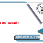 NEET MDS Result 2021 (Out) | Download NBE MDS Score Card & Merit List