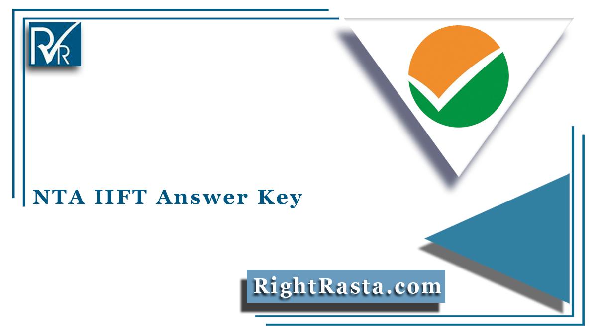 NTA IIFT Answer Key