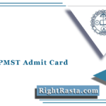 Odisha PMST Admit Card 2021 (Out)   Download BSE PMST Hall Ticket