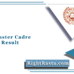 PSEB Master Cadre Teacher Result 2021 (Out)   SSA Panjab Merit List List