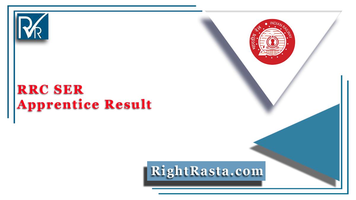 RRC SER Apprentice Result